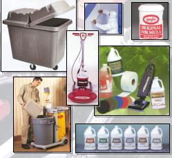 Picture of janitorial supplies