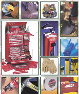 Collage of tools